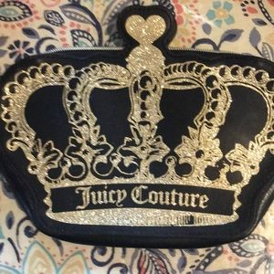 Juicy couture cosmetic charging bag